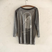 takuroh shirafuji SALON Gray T-shirts size XL