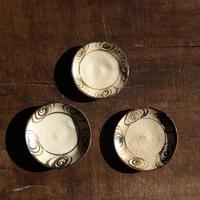 antiques  瀬戸 馬の目 豆皿 3枚セット