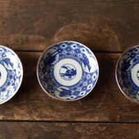 antiques 印判 小皿