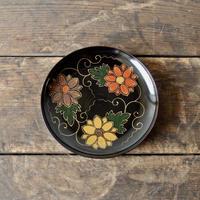 antiques 漆器 蒔絵 菓子皿