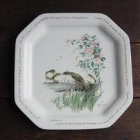 antiques ノリタケ Edith Holden 鳥のプレート