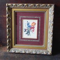 antiques  Somerset オフセット印刷画(額付き)