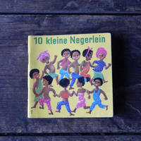 antiques 絵本 10klein Negerlein from Germany