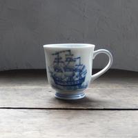 antiques  NIKKO 船のマグカップ