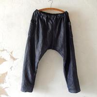 takuroh shirafuji Chao Phraya[Sarouel Pants(Denim Linen) :  size 2]