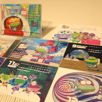 令和元年(2019年5~12月)ポストカードカレンダー(卓上ケース入り)