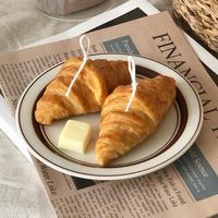 croissant candle (2個set)