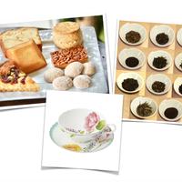 洋菓子トリートBOX+カップセット(厳選茶葉11種とミルグレイの洋菓子+ココフルール)