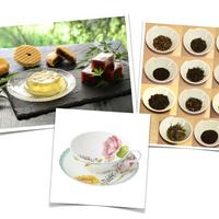 和菓子トリートBOX+カップセット(厳選茶葉11種と笹屋伊織の和菓子+ココフルール)