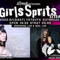 【動員・配信チケット】ATreat presents Girls Sprits EXTRA   nilfinity x かなでももこ 2MAN LIVE