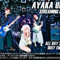 AYAKA UEHARA STREAMING LIVE  3DAYS チケット