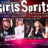 12/7 ATreat presents Girls Sprits ライブチケット
