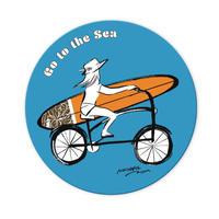 オリジナルステッカー 「go to sea」