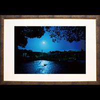 宇治橋と夜桜(Lサイズ)