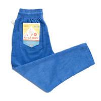 Cookman Chef Pants Corduroy (Royal Blue)