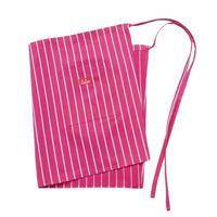 Cookman Waist Apron (Stripe Pink)