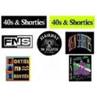 40s & Shorties Sticker Set (7PIECE)
