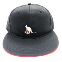 KANGOL MASCOT BASEBALL CAP (BLACK)