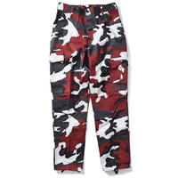 ROTHCO COLOR CAMO TACTICAL BDU PANTS (RED CAMO)
