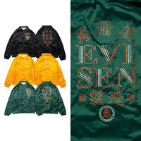 EVISEN HONG KONG COACH JACKET (BLACK, GOLD, DARK GREEN)