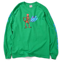 Saints & Sinners Bone Ghost L/S Tee (Green)