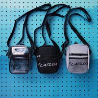 FLATLUX Gone Mini Bag (black, transparent, 3M)