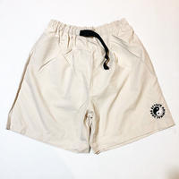ATTACK ORIGINAL NYLON SHORTS (STONE WHITE)