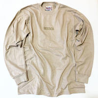 ATTACK ORIGINAL BAYSIDE OLD LOGO LS TEE (SAND)