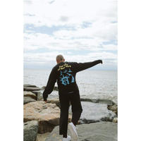 Only NY Seaport L/S T-Shirt (Ash, Vintage Black)