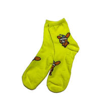 GanaG pppsocks (white, acid green, acid yellow, acid orange)