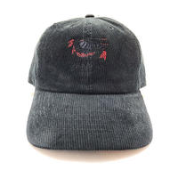 "ATTACK ORIGINAL PRAWNS ""corduroy cap"" (BLACK)"