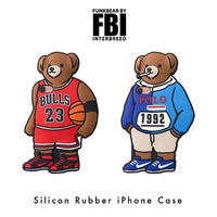 INTERBREED x gizmobies FBI Rubber iPhone Case (MJ Bear, LO Bear)