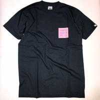 THUMPERS NYC CHEST COLOR BOX LOGO S/S TEE (NAVY)