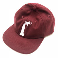 Theories EMPIRE STATE WOOL STRAPBACK (BURGUNDY)