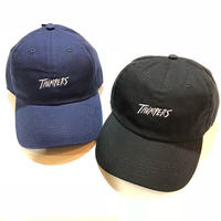 THUMPERS NYC STP HANDWRITTEN LOGO CAP (NAVY, BLACK)