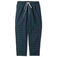 FLATLUX Ideal Eazy Pant (indian check green, indian check red)