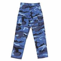 ROTHCO COLOR CAMO TACTICAL BDU PANTS (SKY BLUE CAMO)