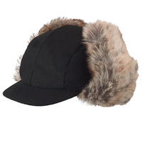 KANGOL WOOL AVIATOR (BLACK)