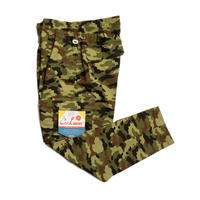 Cookman Chef Cargo Pants Ripstop (Woodland Camo Green)