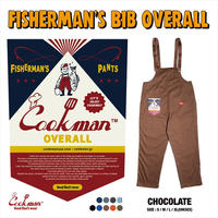 Cookman Fisherman's Bib Overall (Brown)