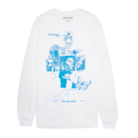 FUCKING AWESOME  Physical Astral L/S Tee  (White)