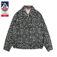 Cookman Delivery Jacket (Paisley Black)