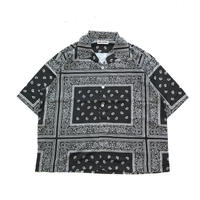 MAD EFFECT PAISLEY SHIRT (BLACK, ARMY, CAFEBROWN)