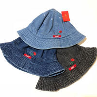 DL Headwear Corsage Metro Hat (iceblue denim, dark denim, black denim)