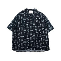 JOHN SOFIA Endless Summer Rope SS Shirt (BLACK)
