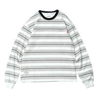 TIGHTBOOTH BOARDER L/S T-SHIRTS (Black, White)