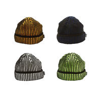Evisen Skateboardsゑ ACID KNIT CAP  (DARK ORANGE, NAVY, WHITE, LIME)