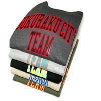 TEAM GOKURAKU CITY CREWNECK SWEAT (DK GRY, H GRY, BLK, BEG, OLV)