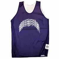 ATTACK ORIGINAL 3-REN ARCH MESH TANK TOP (BLACK, PURPLE)