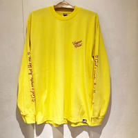 THUMPERS NYC I RIDE WITH JESUS L/S TEE (YELLOW)